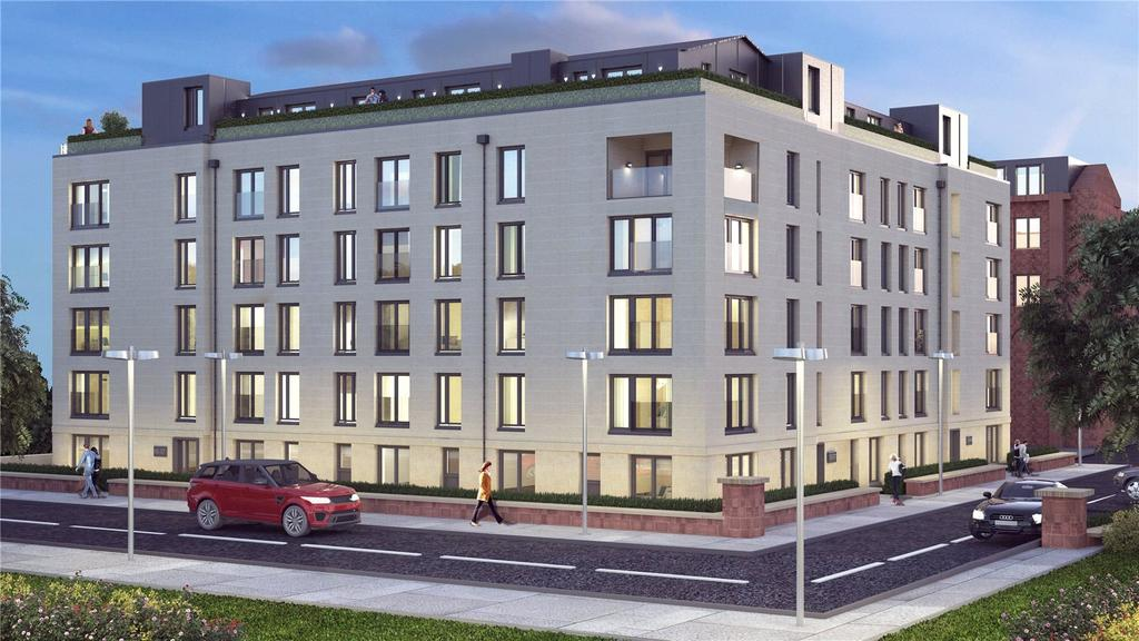 2 Bedrooms Flat for sale in Plot 25 - Atrium Gardens, Broomhill, Glasgow, G11