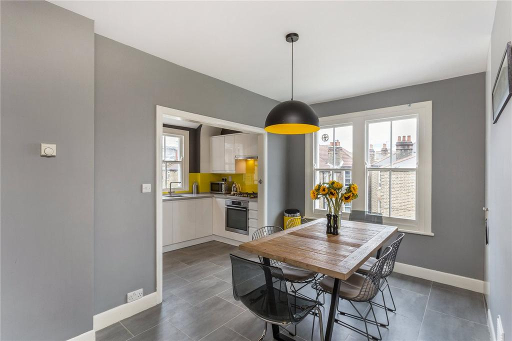 2 Bedrooms Flat for sale in Cato Road, Clapham North, London, SW4