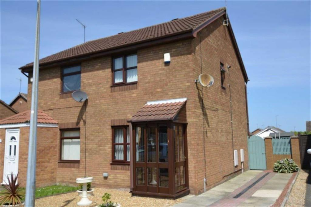 2 Bedrooms Semi Detached House for sale in Fossdale Close, Off Howdale Road, Hull, HU8