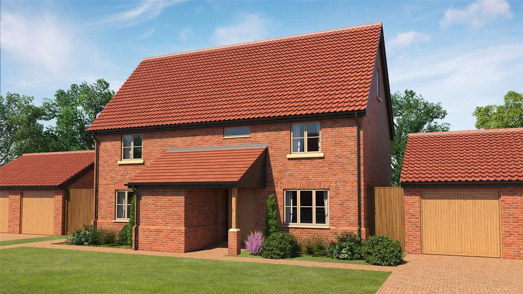 5 Bedrooms Detached House for sale in Plot 12 Poppy Fields, Burlingham Road, East Harling, Norwich, NR16