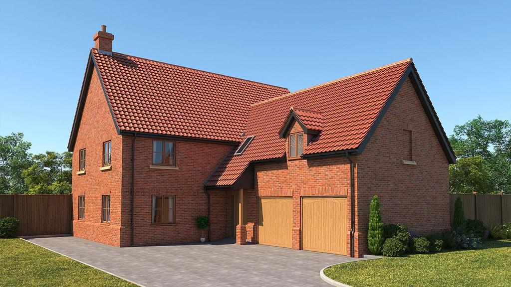 5 Bedrooms Detached House for sale in Plot 7 Poppy Fields, Burlingham Road, East Harling, Norwich, NR16