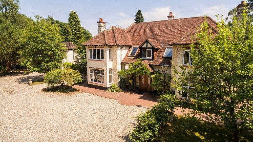 5 Bedrooms Detached House for sale in Winchester Road, Burghclere, Newbury, Hampshire, RG20