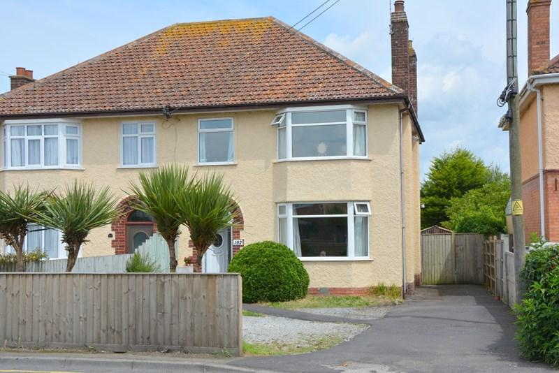 3 Bedrooms Semi Detached House for sale in Berrow Road, Burnham-On-Sea