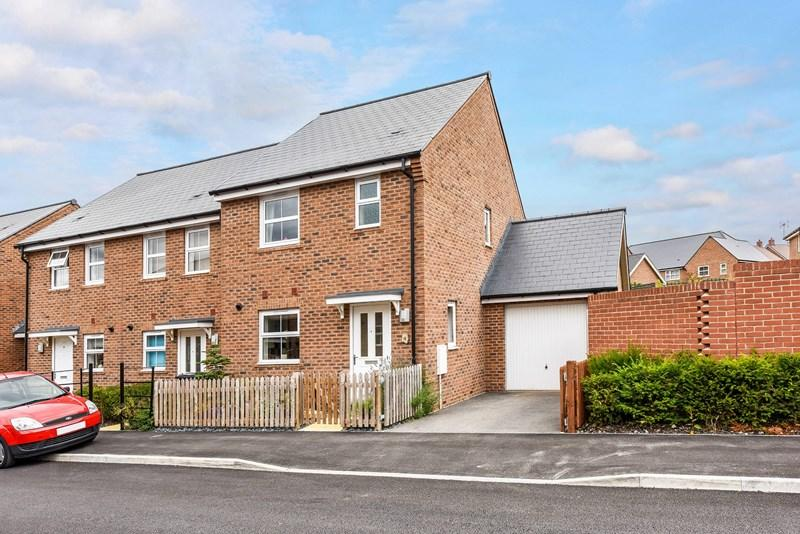 3 Bedrooms End Of Terrace House for sale in Fleece Close, Andover