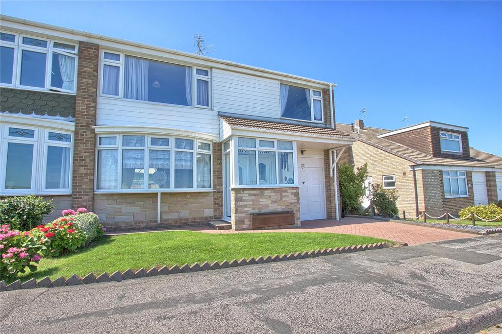 4 Bedrooms Semi Detached House for sale in Howard Drive, Marske-by-the-Sea