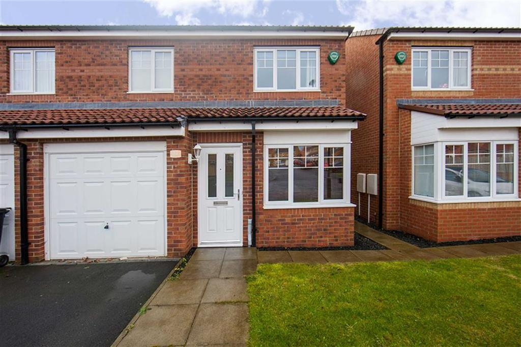 3 Bedrooms Semi Detached House for sale in Cawfields Close, Hadrian Village, Willington Quay, NE28
