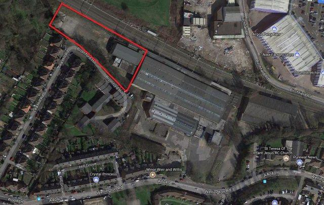 Plot Commercial for sale in Wellington Road,Handsworth,