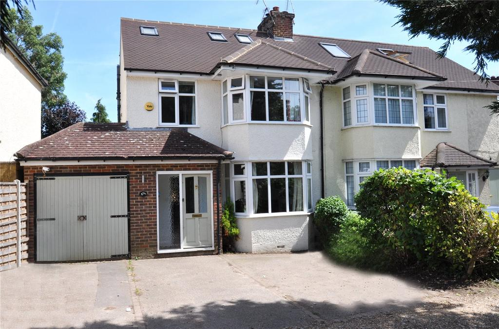 4 Bedrooms Semi Detached House for sale in Watford Road, Chiswell Green, St Albans, Hertfordshire