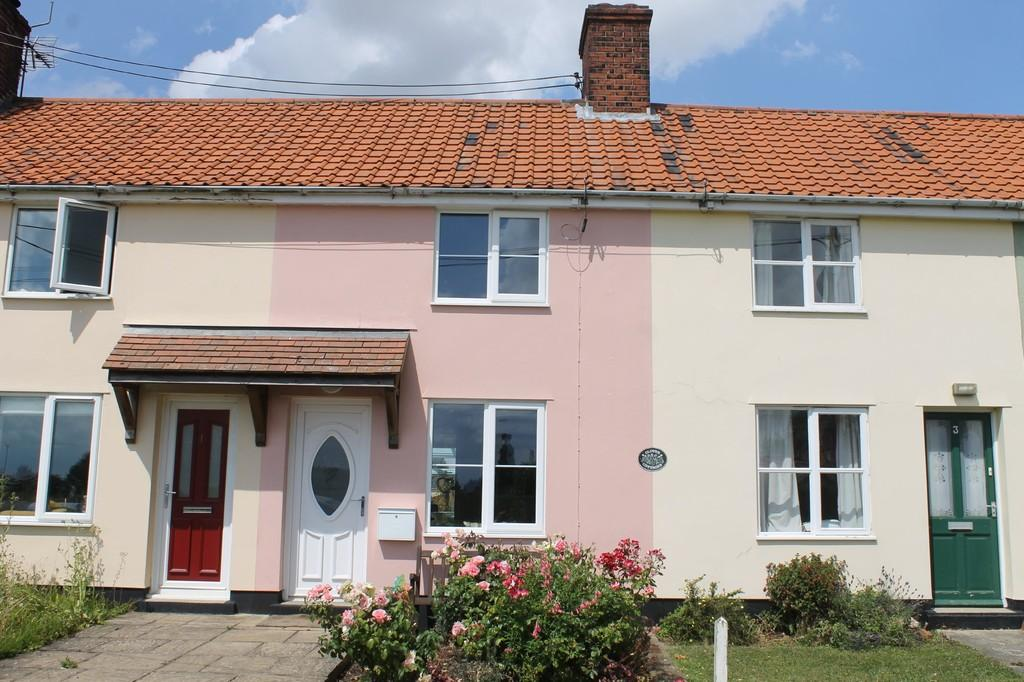 2 Bedrooms Terraced House for sale in Bedfield, Nr Framlingham, Suffolk