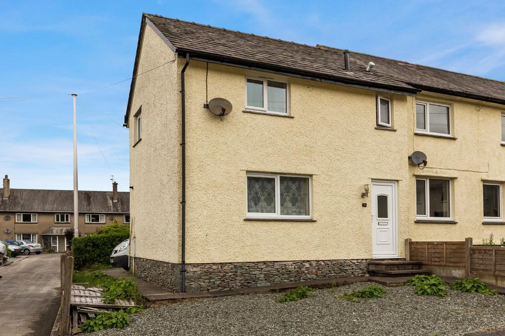 2 Bedrooms End Of Terrace House for sale in 70a Claife Avenue, Windermere, Cumbria, LA23 2LJ