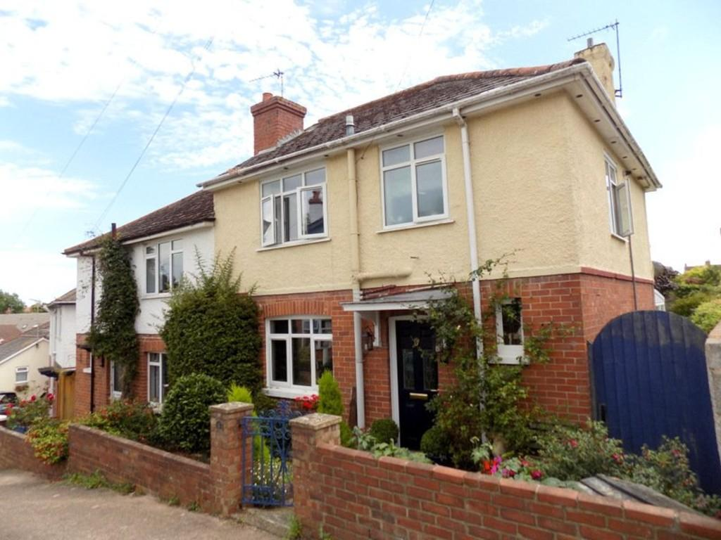 3 Bedrooms Semi Detached House for sale in Vale Road, Exmouth