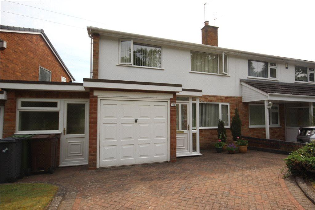 3 Bedrooms Semi Detached House for sale in Lugtrout Lane, Catherine-de-Barnes, Solihull, West Midlands, B91