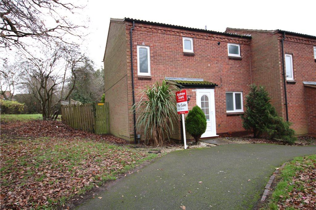 2 Bedrooms End Of Terrace House for sale in Exhall Close, Church Hill South, Redditch, Worcestershire, B98