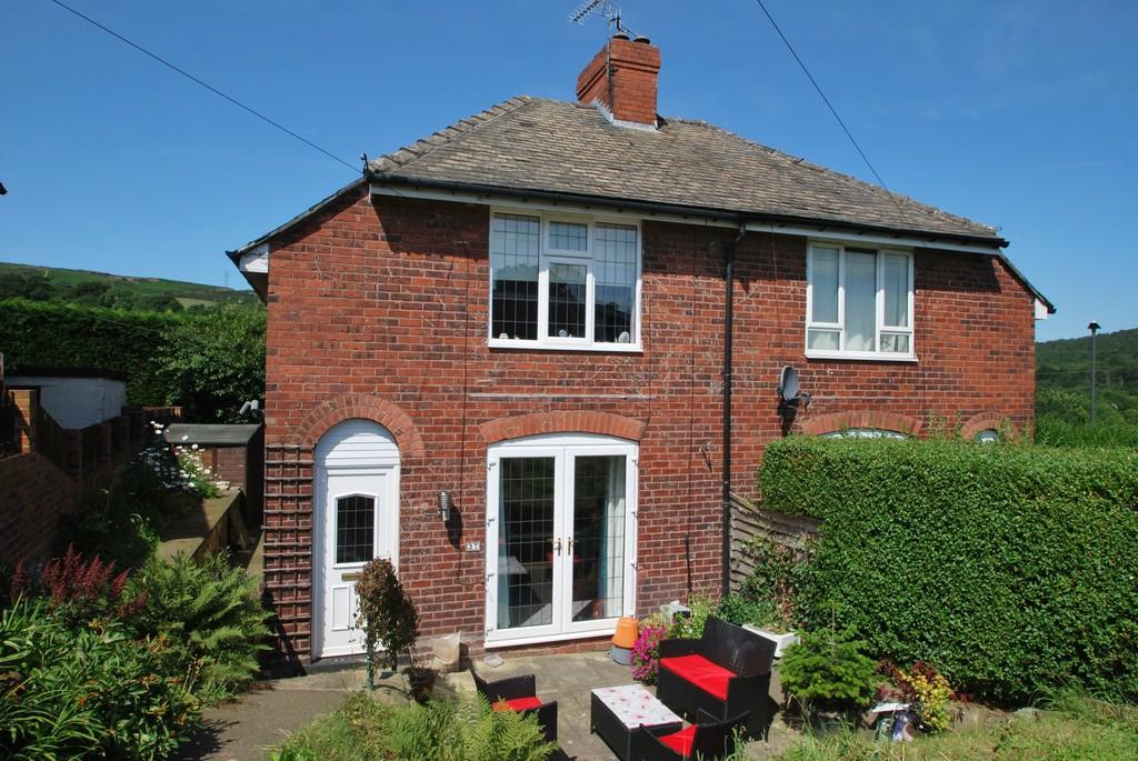 2 Bedrooms Semi Detached House for sale in Wilson Road Deepcar Sheffield