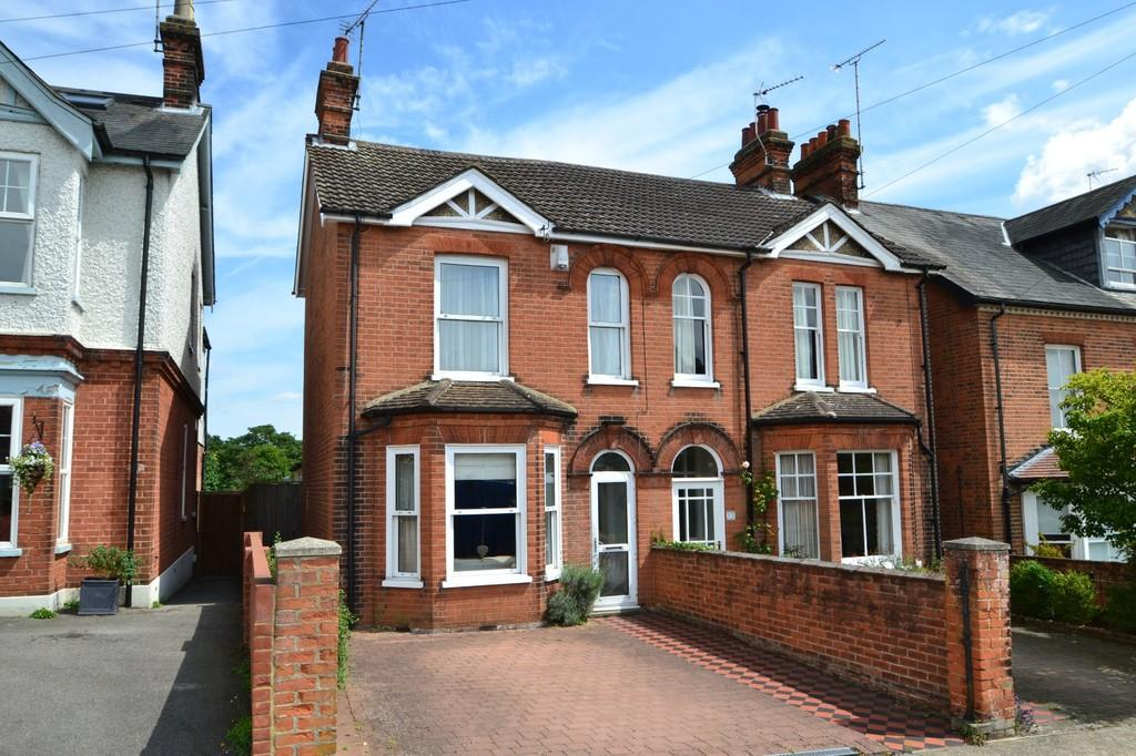 4 Bedrooms Semi Detached House for sale in Corder Road, Ipswich, Suffolk