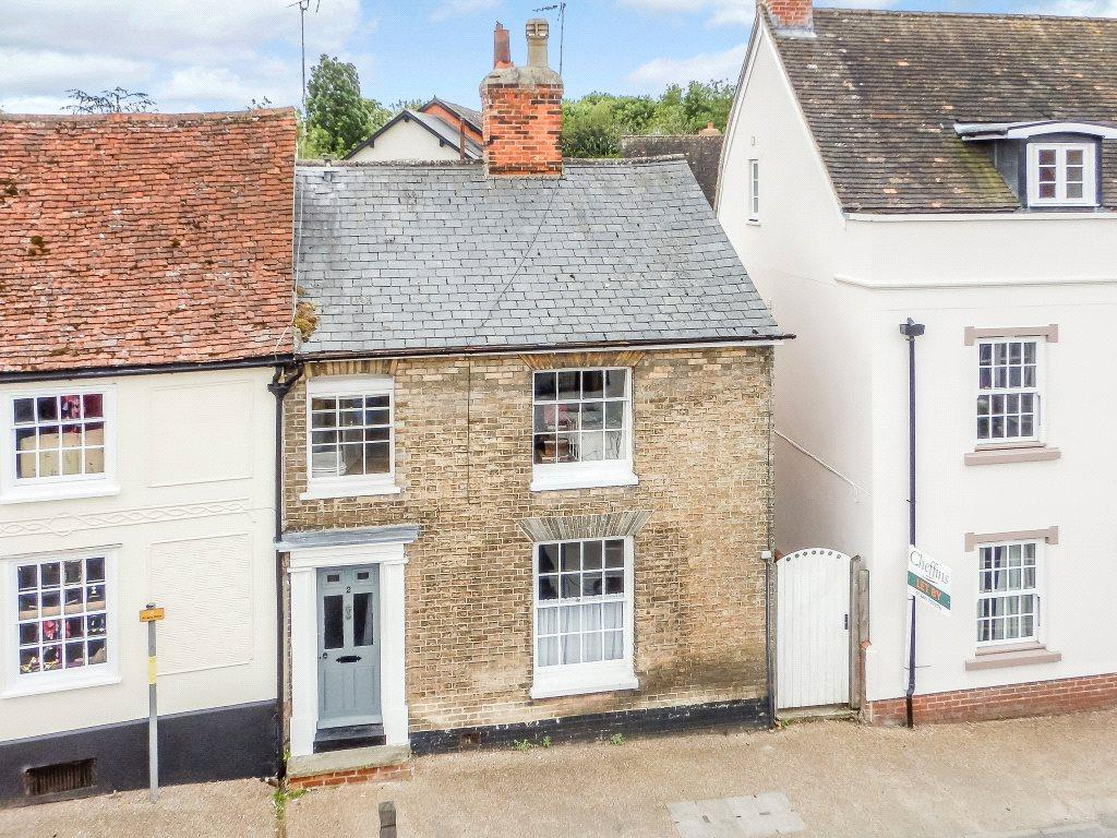 2 Bedrooms Semi Detached House for sale in Nethergate Street, Clare, Sudbury, Suffolk, CO10