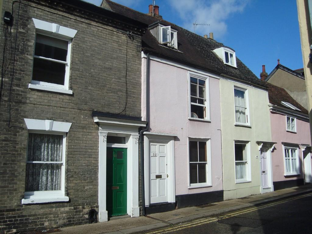 2 Bedrooms Terraced House for sale in Guildhall Street , Bury St Edmunds
