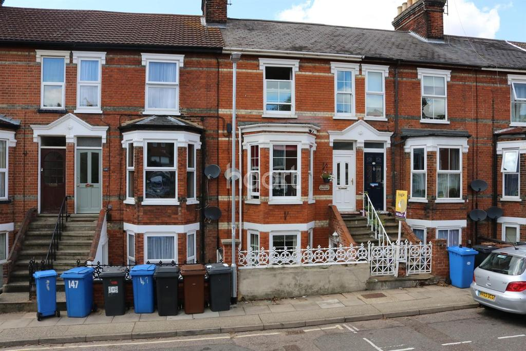 4 Bedrooms Terraced House for sale in Cemetery Road, Ipswich