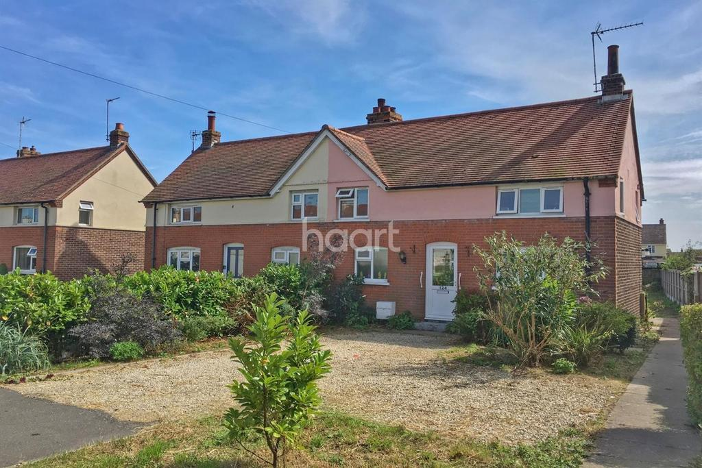 3 Bedrooms Semi Detached House for sale in Harwich Road, Mistley, Manningtree, Essex