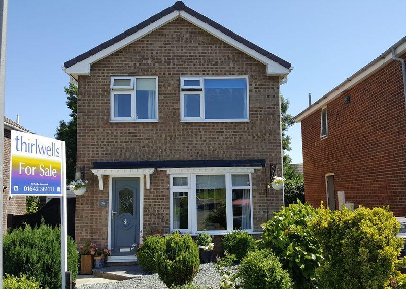 3 Bedrooms Detached House for sale in Lanchester Avenue, Billingham