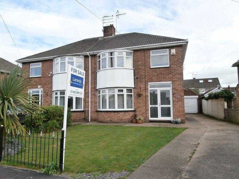 3 Bedrooms Semi Detached House for sale in Belvedere Drive, Bilton