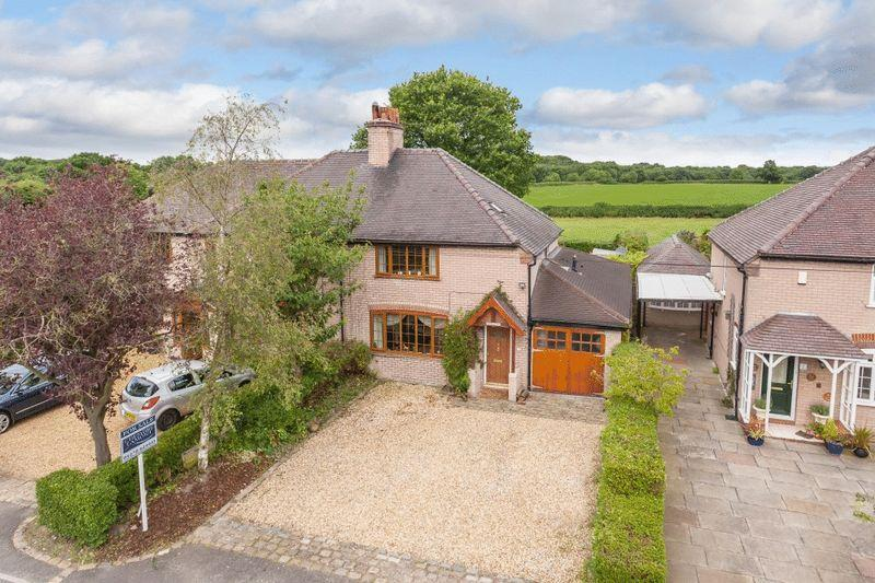 3 Bedrooms Semi Detached House for sale in Brook House Lane, Minshull Vernon, Nr Nantwich