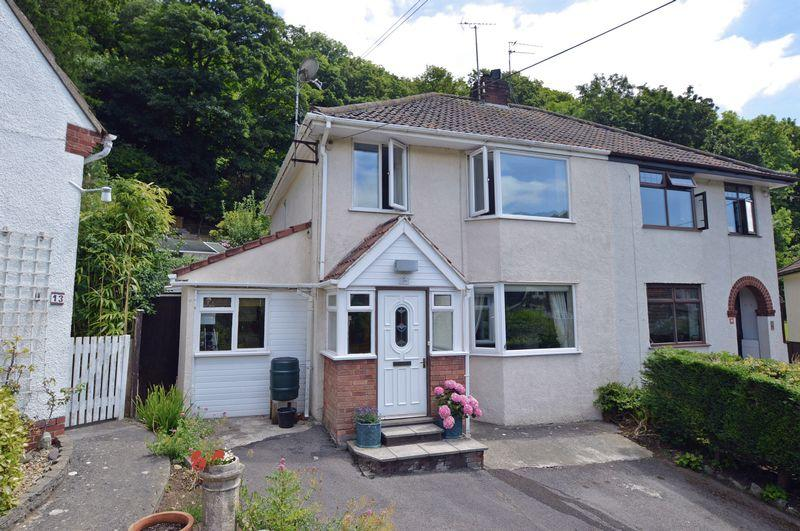 3 Bedrooms Semi Detached House for sale in Outstanding position in Clevedon's Swiss Valley
