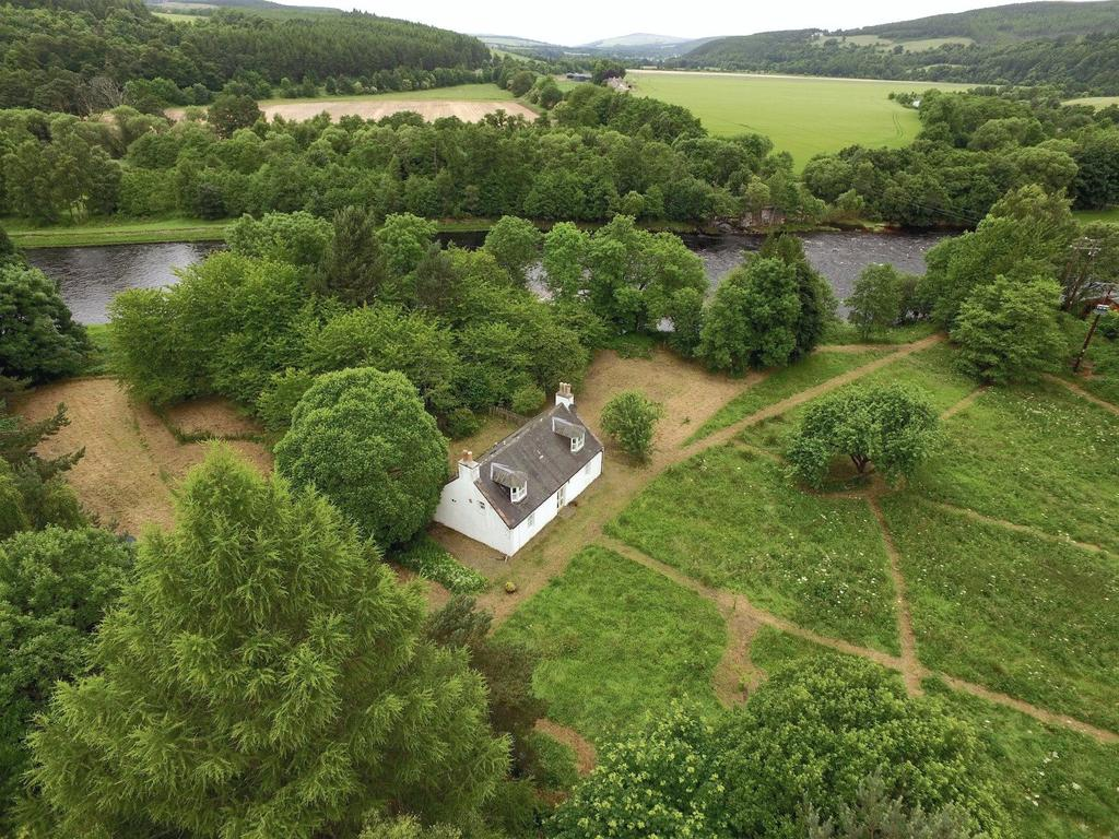3 Bedrooms Detached House for sale in Boat O Fiddich, Craigellachie, Aberlour, Moray, AB38