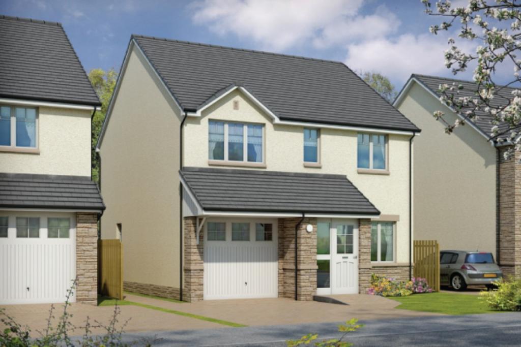 4 Bedrooms Detached House for sale in Plot 34 Ochil, Oaktree Gardens, Alloa Park, Alloa, Stirling, FK10 1QY