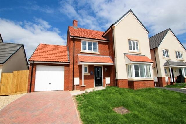 4 Bedrooms Detached House for sale in Haygrove Park, Bridgwater