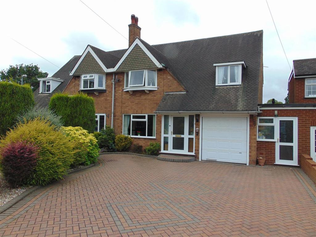 4 Bedrooms Semi Detached House for sale in Seven Acres, Aldridge
