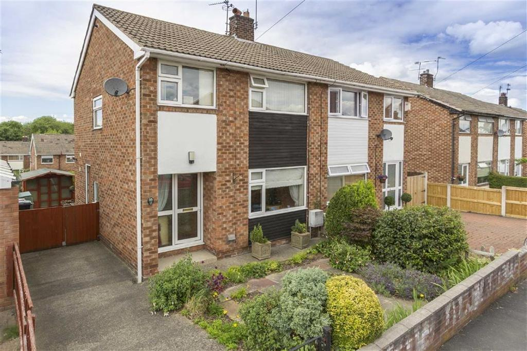3 Bedrooms Semi Detached House for sale in Mill View Road, Shotton, Deeside, Clwyd