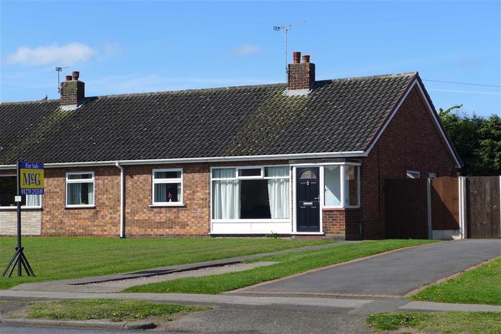 2 Bedrooms Semi Detached Bungalow for sale in Rope Lane, Shavington, Crewe