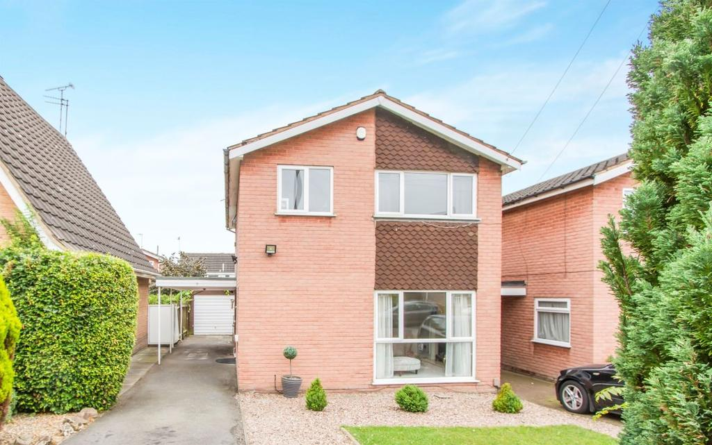4 Bedrooms Detached House for sale in Lindrick Drive, Evington, LE5