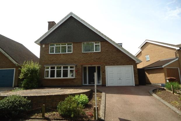 4 Bedrooms Detached House for sale in Parkside, Groby, Leicester, LE6