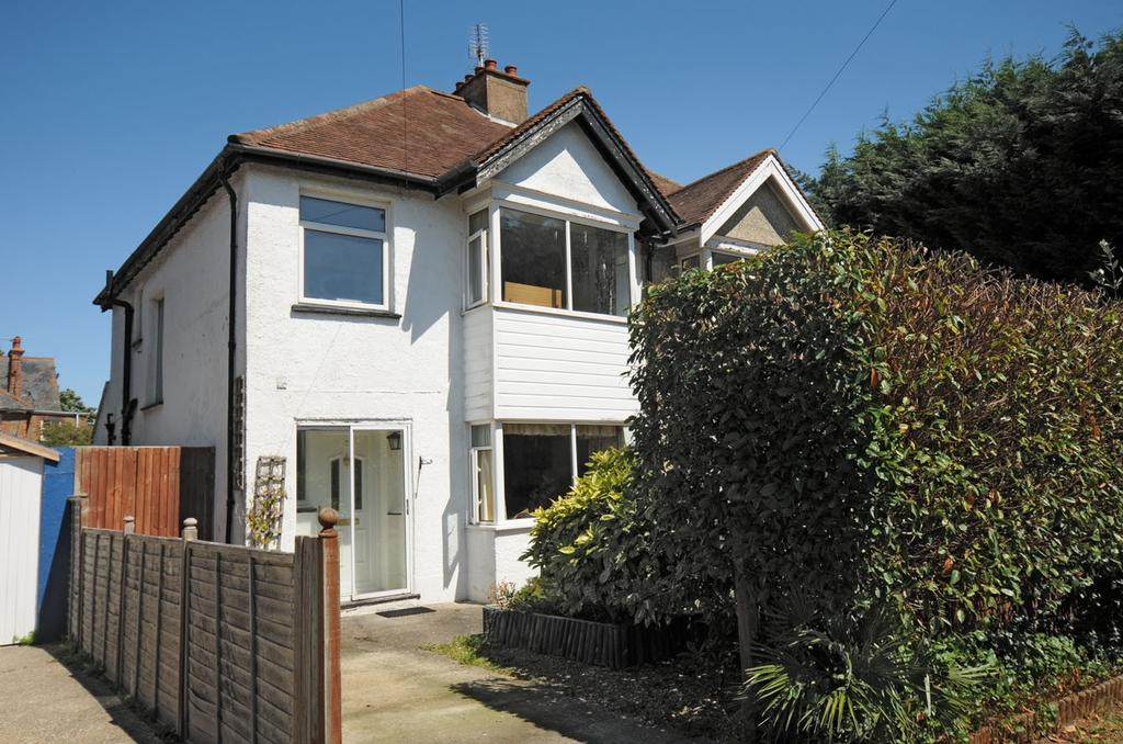 3 Bedrooms Semi Detached House for sale in Burnham Gardens, Bognor Regis, PO21