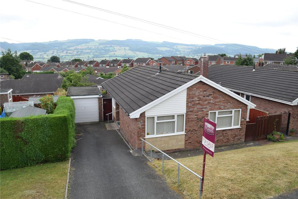 3 Bedrooms Detached Bungalow for sale in Adelaide Drive, Red Bank, Welshpool, Powys