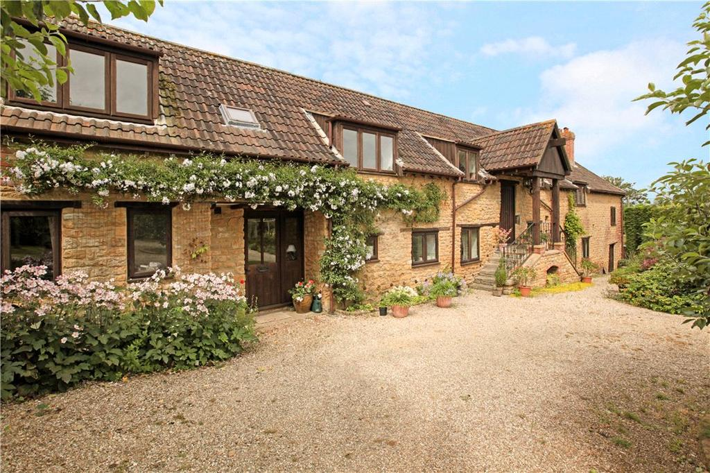 4 Bedrooms Detached House for sale in Woolston, North Cadbury, Somerset, BA22