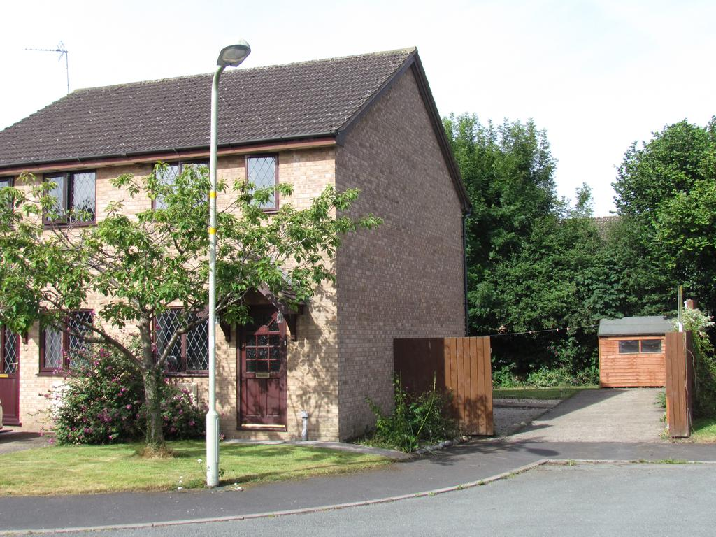 2 Bedrooms Semi Detached House for sale in Applewood Heights, West Felton, Oswestry SY11