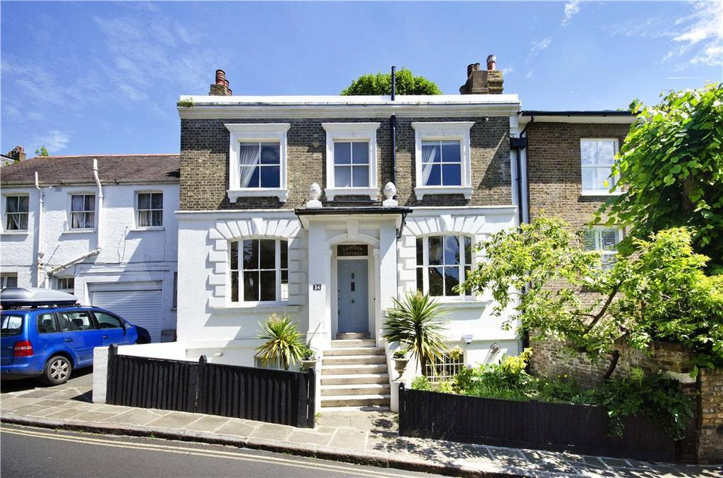 3 Bedrooms Terraced House for sale in Christchurch Hill, Hampstead, London, NW3