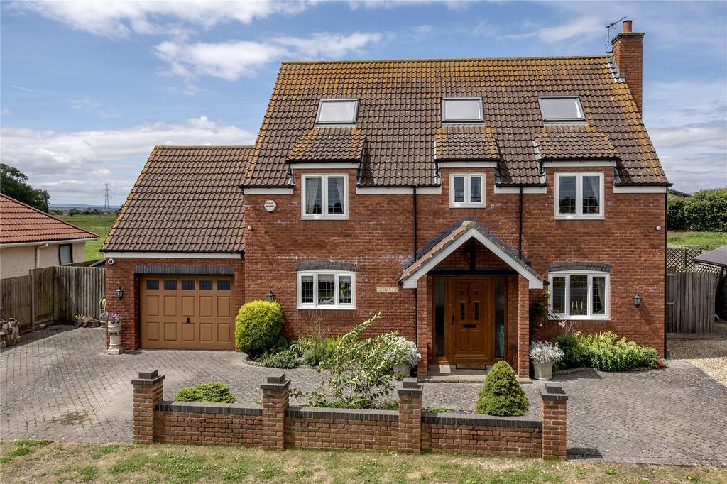 5 Bedrooms Detached House for sale in Catcott Broad Drove, Burtle, Bridgwater, Somerset