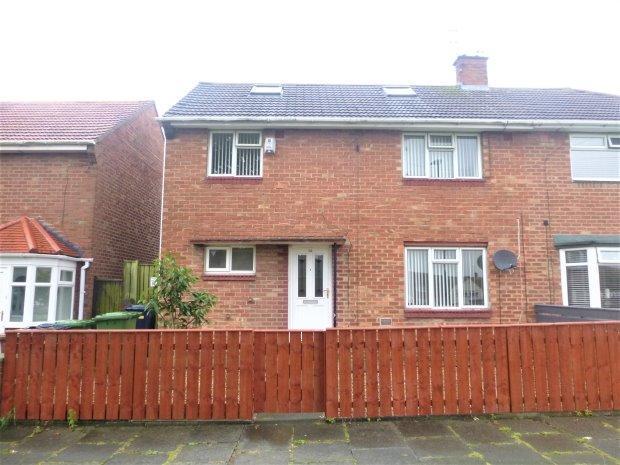 3 Bedrooms Semi Detached House for sale in GRINDON GARDENS, GRINDON, SUNDERLAND SOUTH