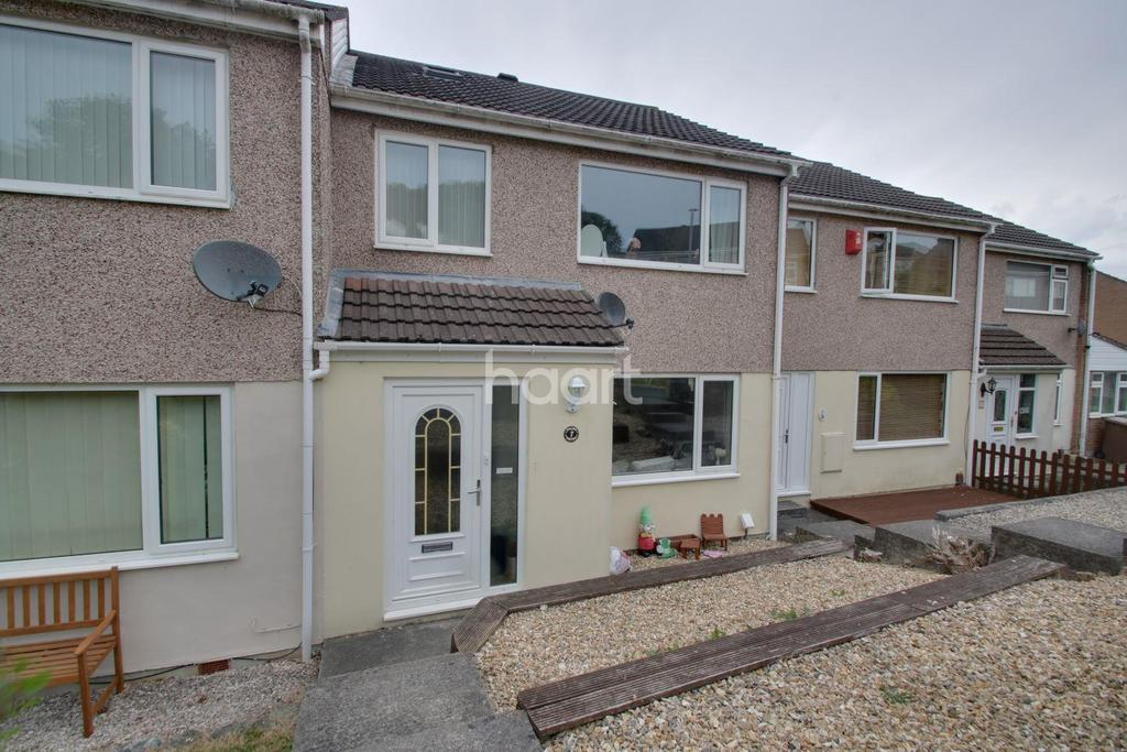 3 Bedrooms Terraced House for sale in Totnes Close, Plympton