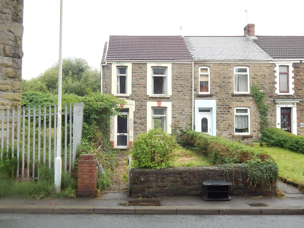 2 Bedrooms End Of Terrace House for sale in Clydach Road, Morriston, Swansea