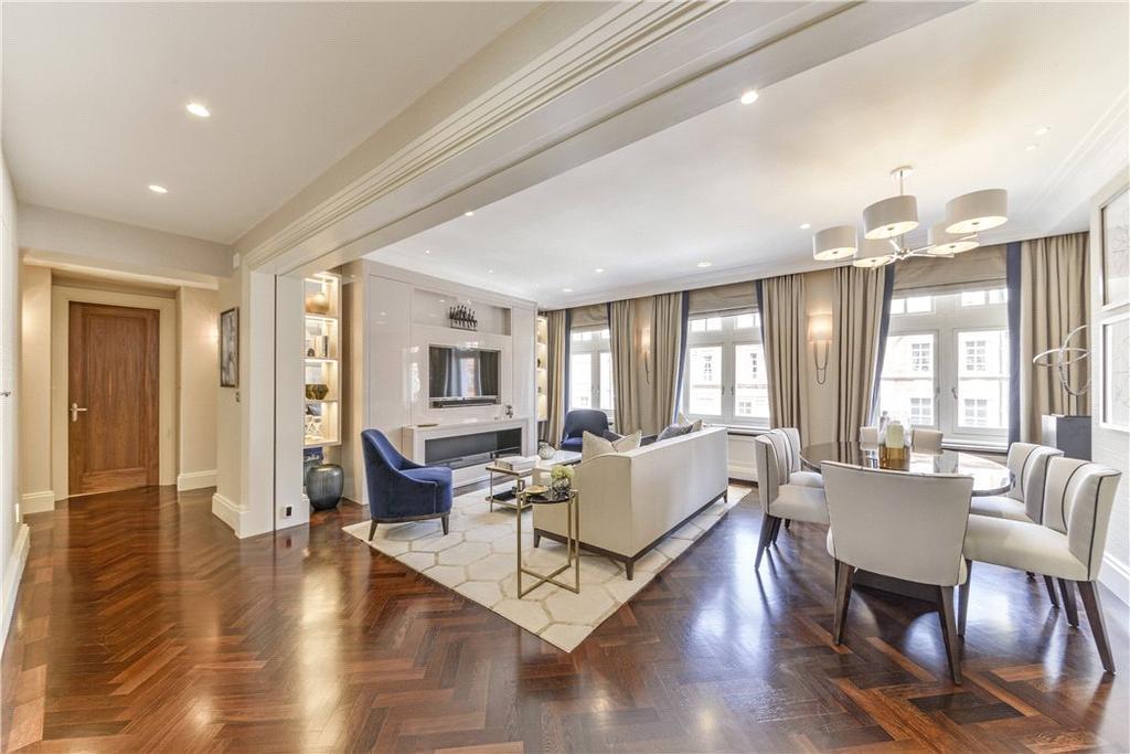 3 Bedrooms Flat for sale in Pont Street, Knightsbridge, London, SW1X