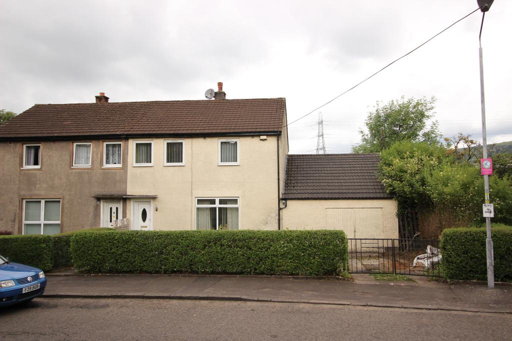 3 Bedrooms Semi Detached House for sale in 99 Melbourne Avenue, Clydebank, G81 4QD