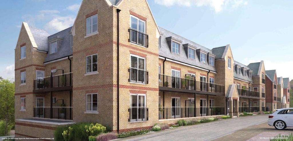2 Bedrooms Flat for sale in 408 Elm House, Ryewood, Dunton Green, Sevenoaks, TN14