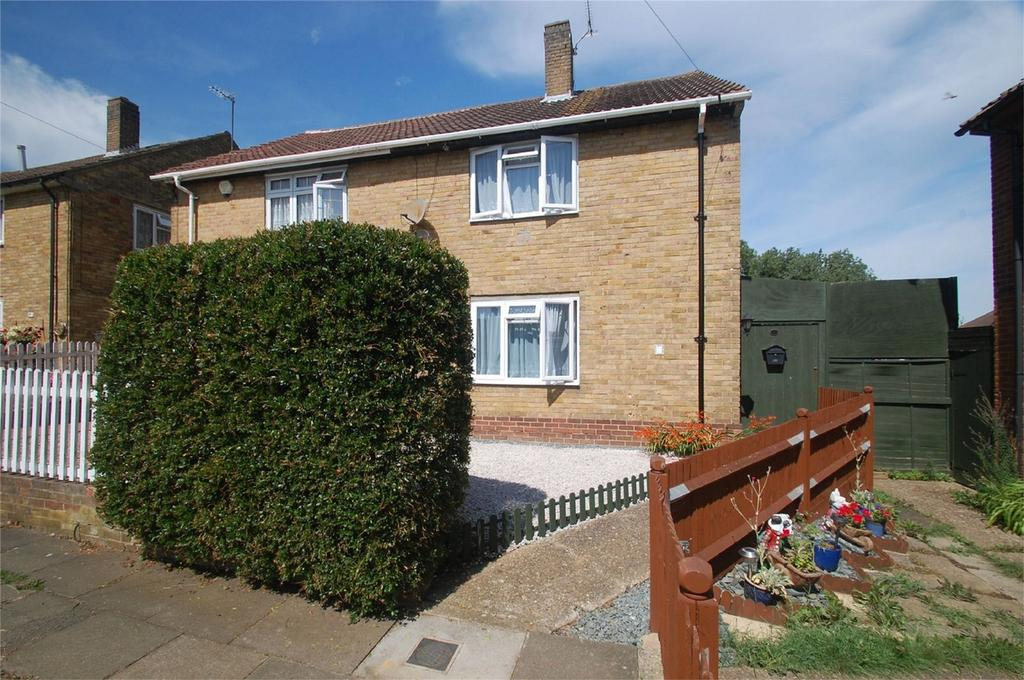 3 Bedrooms Semi Detached House for sale in Elham Close, Gillingham, Kent