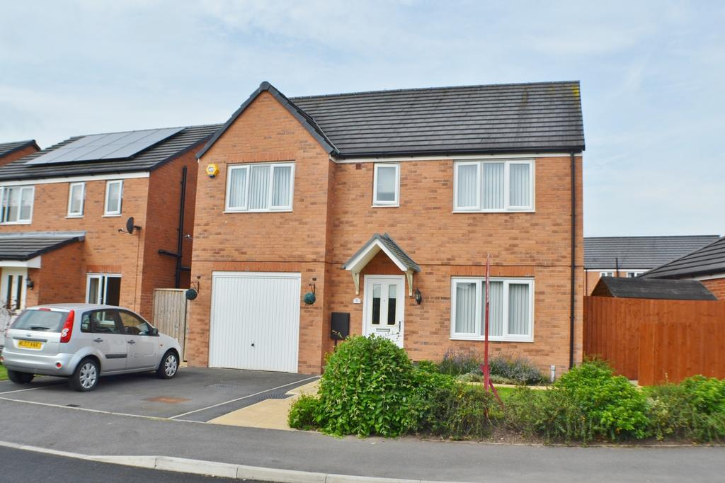 5 Bedrooms Detached House for sale in Jubilee Pastures, Middlewich