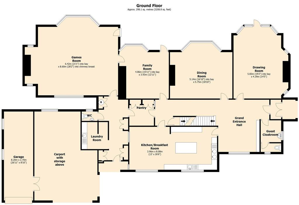 Floorplan 1 of 4: The Coppice, 23 Plymouth Road, Barnt Green   Floor